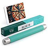 DOLCE MARE Silikon Teigrolle - Antihaft Nudelholz - BPA freie Fondant Rolle für Pizza & alle weiteren Teigwaren - Der Teigroller kommt in Einer edlen Geschenkverpackung