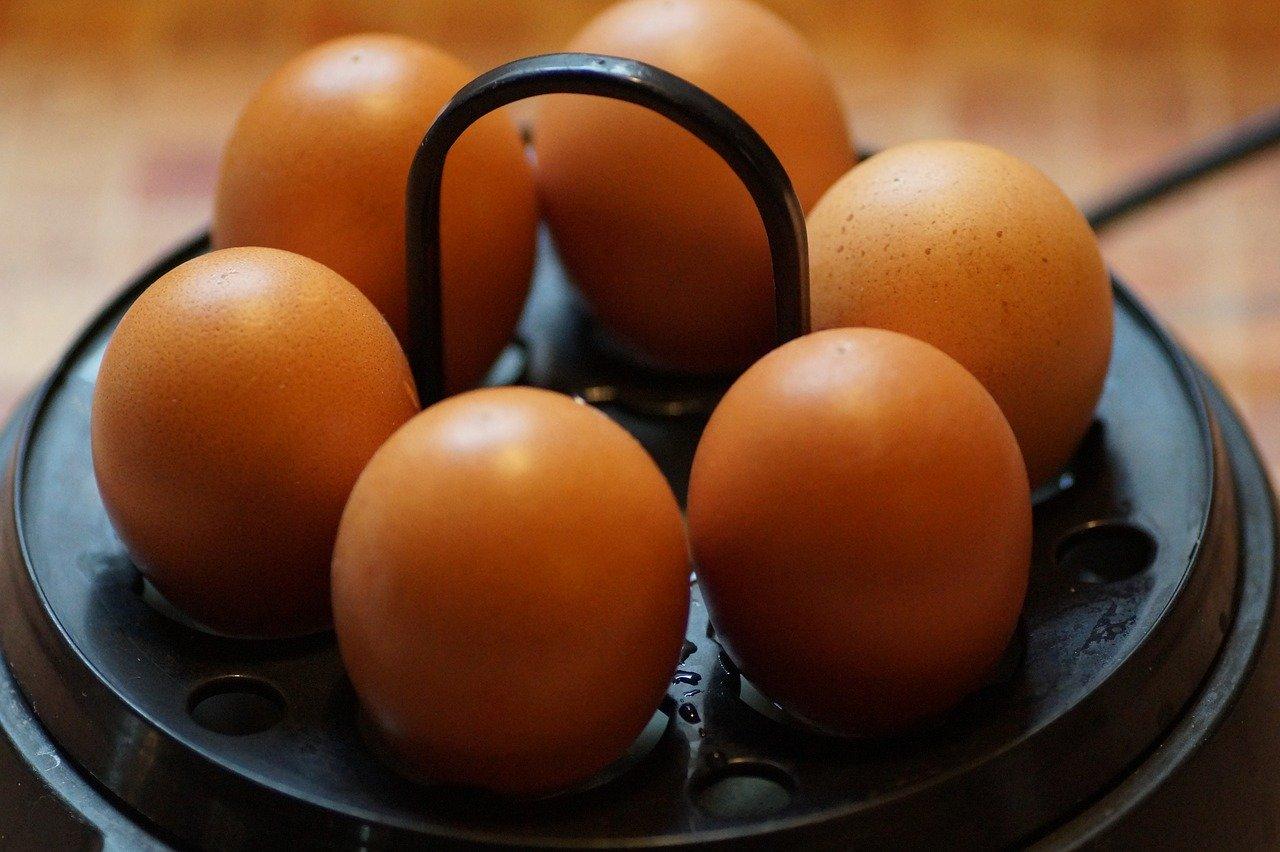 Ein guter Eierkocher kocht auch problemlos mehrere Eier gleichzeitig.